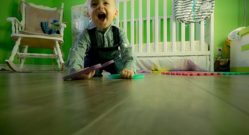 w pokoju dziecka jest wszystko