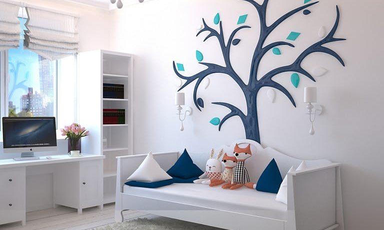 gustowne ozdoby do pokoju dziecięcego
